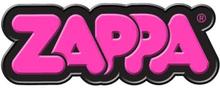 Frank Zappa: Fridge Magnet/Pink 3D Bubble Logo