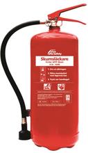 Nexa brandslukker, rød 6L Skum, vægbeslag