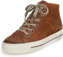 Ankelhöga sneaker från Paul Green brun