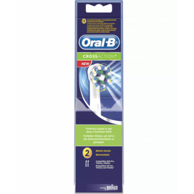Oral-B Crossaction 2 stk