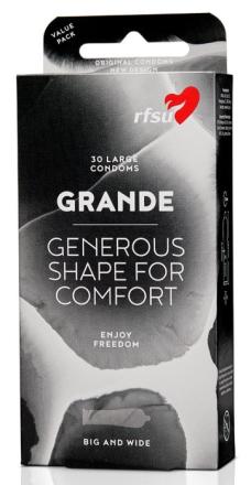 RFSU Grande kondomer 30 st