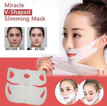 Miracle V-Shaped Slimming Mask Lifting Facial Mask Lifting Visage Face Slim Chin Neck Lift Peel-off Mask Skin Care Massage