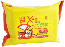Xpel Kids Mosquito & Insect Repellent Wipes 25 stk