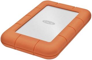 Ekstern harddisk 6,35 cm (2,5) LaCie Rugged Mini USB 3.0 2 TB Sølv, Orange