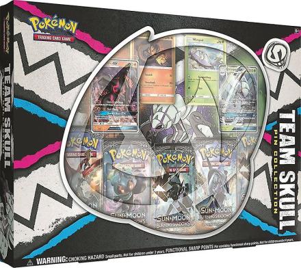 Pokemon TCG Team kraniet Pin samling - Fruugo