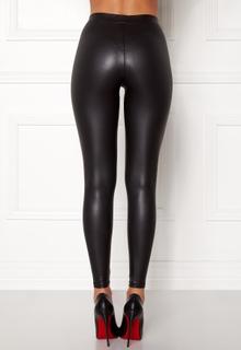 Pieces New Shiny Leggings Black L/XL