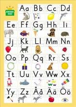 Bokstavsriket/Alfabetskort, 8-pack