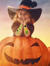Halloween Luminous Cartoon Children Tattoo Stickers Waterproof Party Disposable Transfer Paper