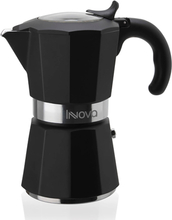 Miss Innova espressokande - sort - 6 kopper