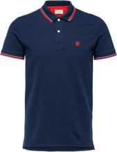 SELECTED Regular Fit - Polo Shirt Men Blue