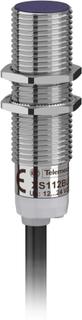 Schneider Electric Induktiv nærhedssensor M12 Flugter med PNP, lukker, Digital XS112BLPAL2