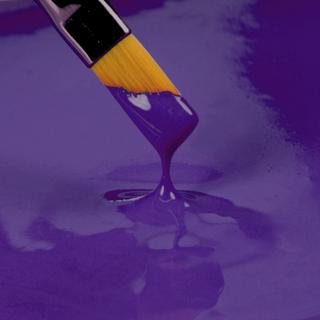 Spiselig maling, mørk lilla