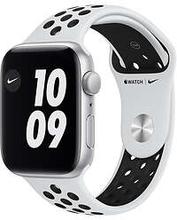 Apple Watch SE 44mm Vit Sport rem Hvid