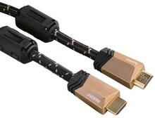 HAMA Kabel HDMI Ethernet PREMIUM 4K Svart 1.5m