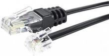 EXC RJ-11/RJ-45 telephone cord 2m