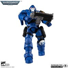 McFarlane Warhammer 40,000 7 Inch Action Figure - Ultramarines Reiver with Bolt Carbine