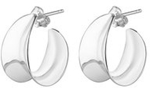 Wave small Hoops, ONE SIZE