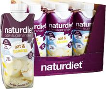 Måltidsersättning Shake Oat & Banana 12-pack - 45% rabatt