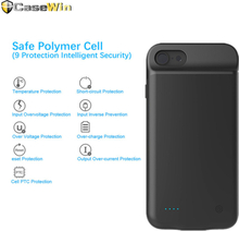 for iPhone SE 5 5S Battery Charger Case 4000mAh External Power Bank Slim Battery Cover for iPhone 7 8 plus 6 6S Charging Case