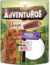 Purina Adventuros Strips Hjortdjur 90 g