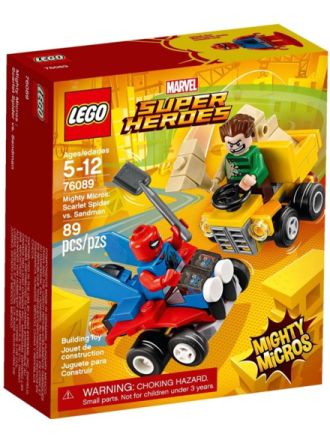 City 76089 Mighty Micros: Scarlet Spider vs. Sandman - Proshop