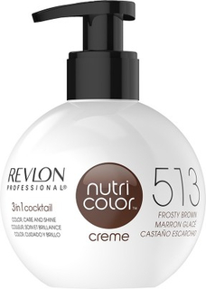 Revlon Nutri Color Creme 513 Frosty Brown 270 ml