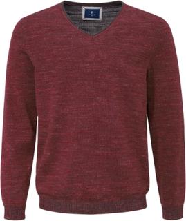 V-ringad tröja från Pierre Cardin röd