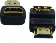 HDMI Hane till HDMI Hona adapter 180 graders Vridning