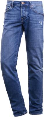 True Religion ROCCO BROCKEN Jeans straight leg blu