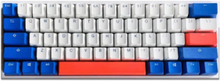 One 2 Mini Bon Voyage - Cherry MX Red - Gaming Tastatur - Uden Numpad - Nordisk - Hvid
