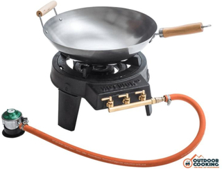 HOT WOK Original 7 kW gasbrænder inkl. wok