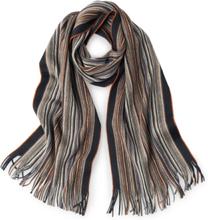 Sjaal 100% scheerwol Van Peter Hahn bruin