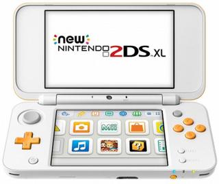 Nintendo New 2DS XL Nintendo 223593 4 GB microSDHC Hvid Orange