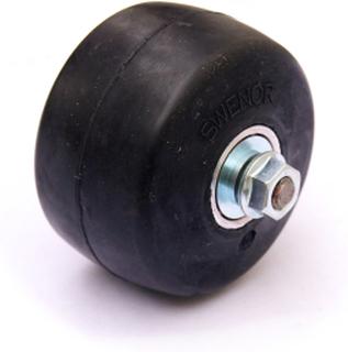 4 Pack hjul nr 2 og keramiske lager Swenor Fibreglass/ Alutech