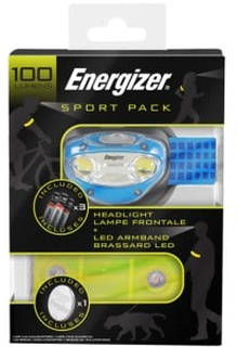 Energizer 100 Lumen Sport Pack