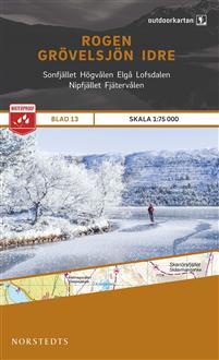Norstedts Ark 13 Rogen-Grövelsjön-Idre 1:75 000