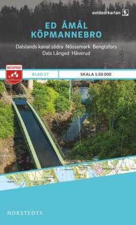 Norstedts Ark 17 Ed-Åmål-Köpmannebro 1:50 000