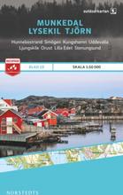 Norstedts Ark 19 Munkedal-Lysekil-Tjörn 1:50 000