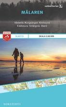 Norstedts Ark 25 Mälaren 1:50 000