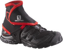 Salomon Trail Gaiters High Svart