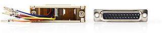 Nedis Serial adapter | Adapter | D-SUB 25-Pin Hona | RJ45 (8P8C) Hona | Nickel | Elfenben | Plastpåse