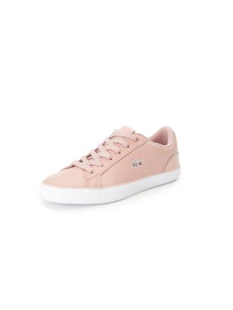 Sneakers för kvinnor, modell Lerond från Lacoste rosa