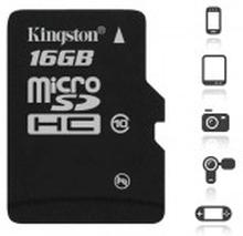 Kingston Canvas Select 16GB MicroSD Inkl. adapter