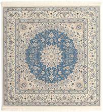 Nain Emilia - Ljusblå matta 200x200 Orientalisk, Kvadratisk Matta