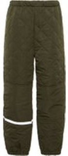 NAME IT Mini Quilted Thermo Trousers Man Grön