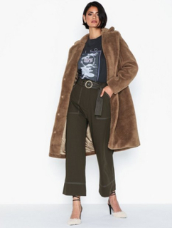 Vero Moda Vmholly Long Teddy Jacket Ki Frakker