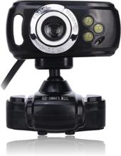 Takaro 16 MP Webcam m/ LED
