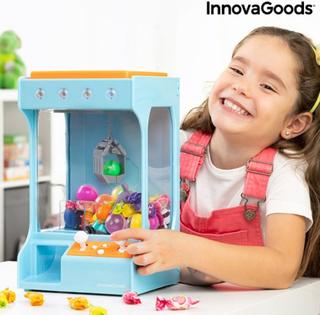 Forlystelsesmaskine med lys og lyd til slik og legetøj SurPrize InnovaGoods