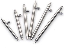 10pcs Stainless Steel Quick Release Watch Band Single Switch Spring Bars 16mm 18mm 20mm 22mm 24mm Strap Link Pin