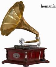 grammofon Classic Firkantet - Old Style Samling by Homania